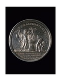 Commemorative Medal for Wedding of Ferdinand IV, King of Naples and Sicily Giclee Print
