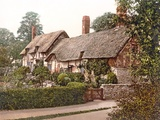 Anne Hathaway's Cottage in Stratford-Upon-Avon, 1890-1900 Photographic Print