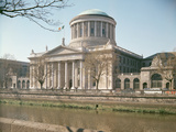 Four Courts, Dublin, Seen from the River Liffey, Built 1796-1802 Photographic Print by James Gandon
