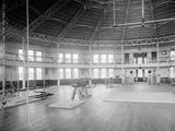 Gymnasium Interior, U.S. Naval Academy, C.1890-1901 Photographic Print