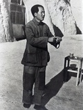 Mao Tse-Tung in His Mountain Stronghold, Yenan, 1942 Photographic Print
