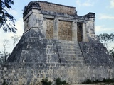 The North Temple of the Game of Pelota, Chichen Itza Photographic Print