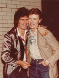 Keith Richards and David Bowie, Circa Early 1980S Stampa fotografica