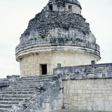 The Astronomical Observatory known as Caracol, Chichen Itza Photographic Print