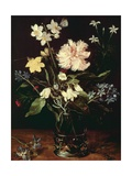 Still Life with Flowers by Jan Brueghel Elder of Pile Giclee Print