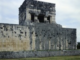 The Temple of Tigers or Jaguars, Detail of the Upper Part, Chichen Itza Photographic Print