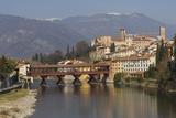 Ponte Degli Alpini, Bassano Del Grappa, Veneto, Italy Photographic Print