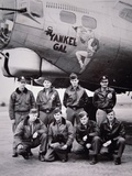 Crew of the B-17 Flying Fortress 'Yankee Gal', 1941-5 Stampa fotografica