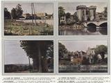 La Gare De Verdun, La Porte De France, Douaumont, Rives De La Meuse Photographic Print by Jules Gervais-Courtellemont