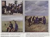 Clairon D'Artillerie, Canon De 90, Officiers De Zouaves Photographic Print by Jules Gervais-Courtellemont