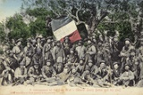 A Reminiscence of the Boer War - General Louis Botha and His Staff Photographic Print