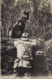 French Grenadier and His Sentry Dog, Aisne Front, France, World War I Photographic Print