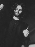 Jim Morrison in Perfomance at the Dinner Key Auditorium, 1 March 1969 Photographic Print