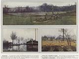 Sermaize, Canal De La Marne Au Rhin, Tranchees Allemandes Photographic Print by Jules Gervais-Courtellemont