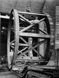 Transporting of the Framework of the Hale Telescope, C.1936-48 Photographic Print