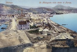District of La Malagueta Viewed from the Lighthouse, Malaga, Spain Photographic Print