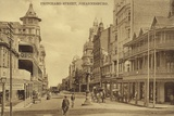 Postcard Depicting Pritchard Street in Johannesburg Photographic Print