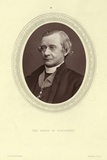 Portrait of Samuel Wilberforce, Bishop of Winchester Photographic Print