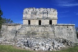 Red House or Casa Colorada or Chichan-Chob, Chichen Itza Photographic Print