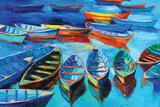 Boats Wall Sign by Boyan Dimitrov