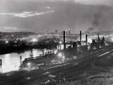 Jones and Laughlin Steel Mill, Pittsburgh, Pennsylvania Photographic Print