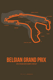 Belgian Grand Prix 1 Plastic Sign by  NaxArt