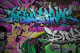 Graffiti Wall Urban Art Plastic Sign by  SergWSQ