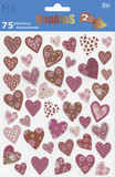 Hearts Stickers Klistermærker