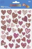 Hearts Stickers Klistermärken