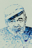 Hemingway Watercolor 1 Wall Sign by Anna Malkin