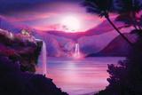 Cachette sous les tropiques Signes en plastique rigide par  blu_vanilla21