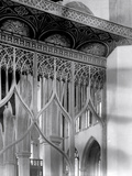 Detail of a Rood Screen, St Mary's Church, Worstead, Norfolk Photographic Print by Frederick Henry Evans