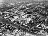 Aerial View of Fort Lauderdale and the New River, C.1955 Photographic Print