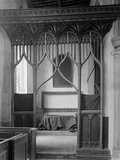 Parclose Screen, St Mary's Church, Worstead, Norfolk Photographic Print by Frederick Henry Evans