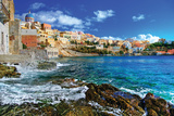 Beautiful Greek Islands Series - Syros Plastikskilte af Maugli-l