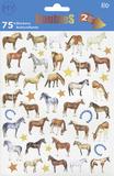 Horses Stickers Pegatinas