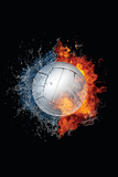 Volleyball Ball Wall Sign by  RaStudio