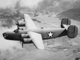 Consolidated B-24D Liberator American Bomber of Ww2 Photographic Print