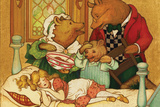 Goldilocks and the Three Bears Wall Sign