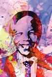 Nelson Mandela Watercolor Plastic Sign by Anna Malkin