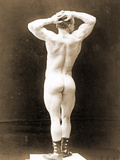 Eugen Sandow, in Classical Ancient Greco-Roman Pose, C.1897 Photographic Print