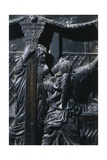 Detail from the Right Pulpit, Basilica of St Lawrence, Florence Giclee Print by Donatello
