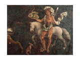 Dean, Detail from Sign of Taurus, Scene from Month of April Giclee Print by Francesco del Cossa