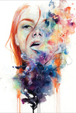 This Thing Called Art Is Really Dangerous Wall Sign by Agnes Cecile