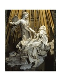 Italy, Rome, Church of Santa Maria Della Vittoria, Ecstasy of St Teresa of Avila, 1647-1652 Giclee Print by Gian Lorenzo Bernini