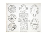 Various Representations of the Zodiac Giclee Print by Alexander Jamieson