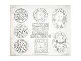 Various Representations of the Zodiac Giclee Print by Alexander Jamieson