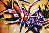 Amazing Abstract Graffiti Tag Wall Sign by  sammyc