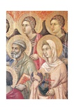 Maesta' of Duccio Altarpiece in Cathedral of Siena Giclee Print by Duccio Di buoninsegna