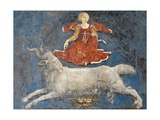 Aries and Dean, Detail from Sign of Aries, Scene from Month of March, Ca 1470 Giclee Print by Francesco del Cossa